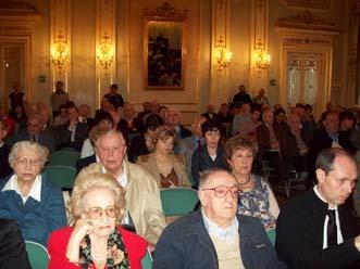 Al centro, in prima fila, Giorgio Magagnini (foto di Livio Nicolini)