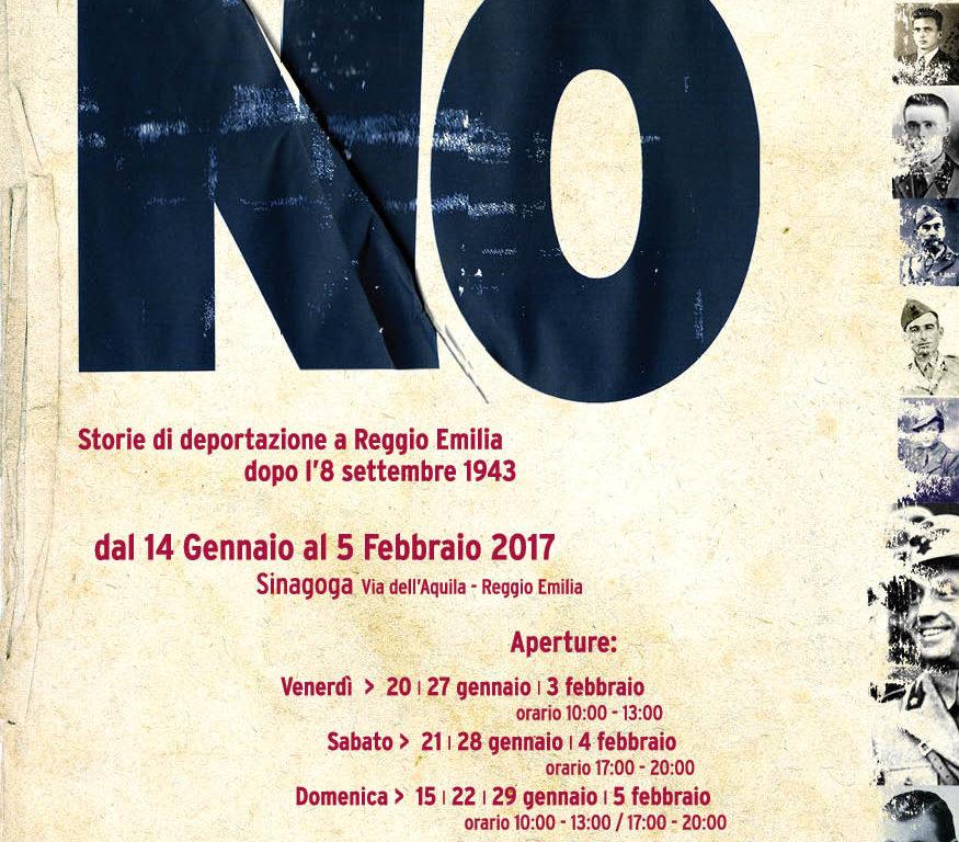 I soldati che dissero NO. Storie di deportazione a Reggio Emilia dopo l'8 settembre 1943