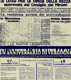 Lezione di Simone Duranti sul razzismo fascista