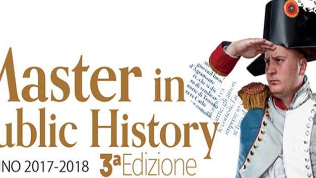 3° edizione Master in Public History