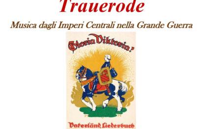 Trauerode Musica dagli Imperi Centrali nella Grande Guerra