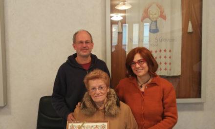 Liliana Manfredi Del Monte cittadina onoraria di Vezzano