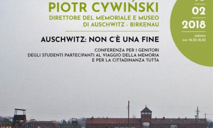 Auschwitz: non c'è una fine
