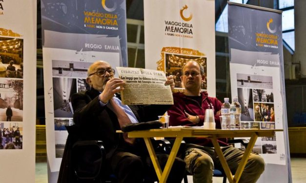 L'incontro con Piero Terracina in diretta su Telereggio