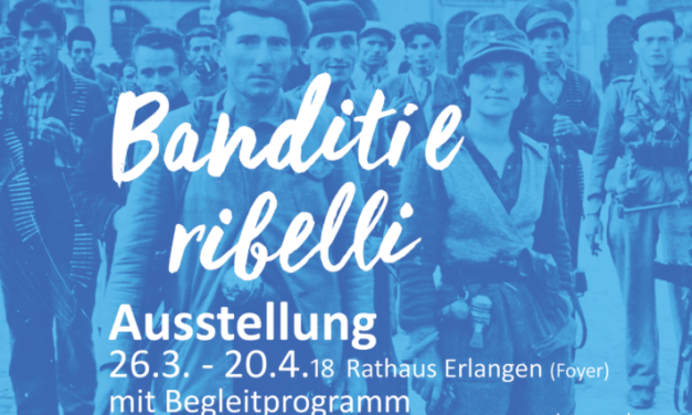 """Banditi e ribelli"" in Erlangen"