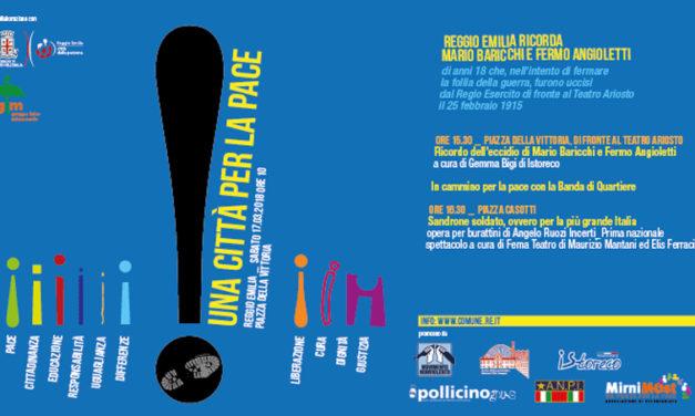 Reggio Emilia ricorda Mario Baricchi e Fermo Angioletti