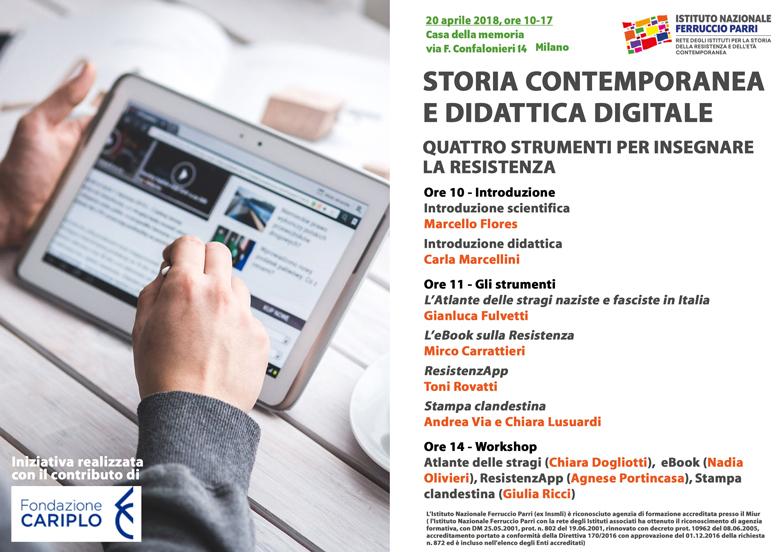 Storia contemporanea e didattica digitale