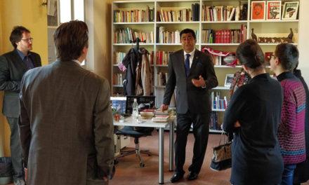 Il nuovo Ambasciatore del Sudafrica in visita all'Archivio Reggio Africa e a Istoreco