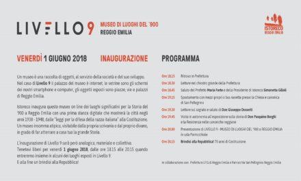 Inaugurazione Livello 9 – Museo di Luoghi del '900 a Reggio Emilia