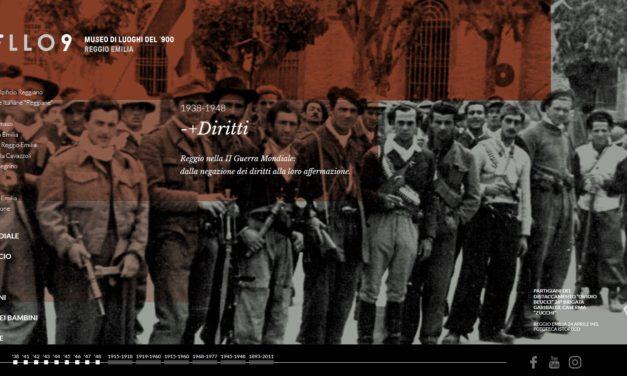 """E' nato """"Livello 9 – Museo di Luoghi del '900 a Reggio Emilia"""""""