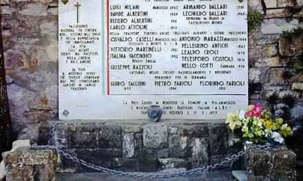 Cerimonia per i caduti di Minozzo