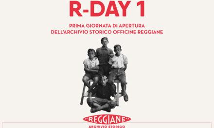 R-DAY 1 Prima giornata di apertura dell'archivio storico Officine Reggiane