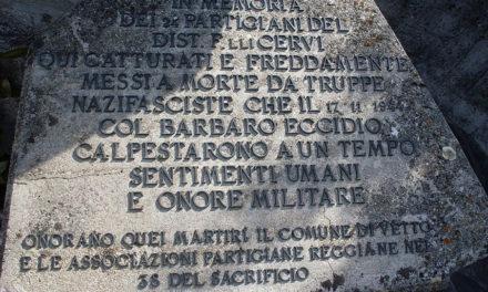 74° anniversario dell'eccidio di Legoreccio di Vetto
