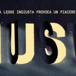 Proiezione di Giusti alla Pastasciutta Antifascista di Rio Saliceto