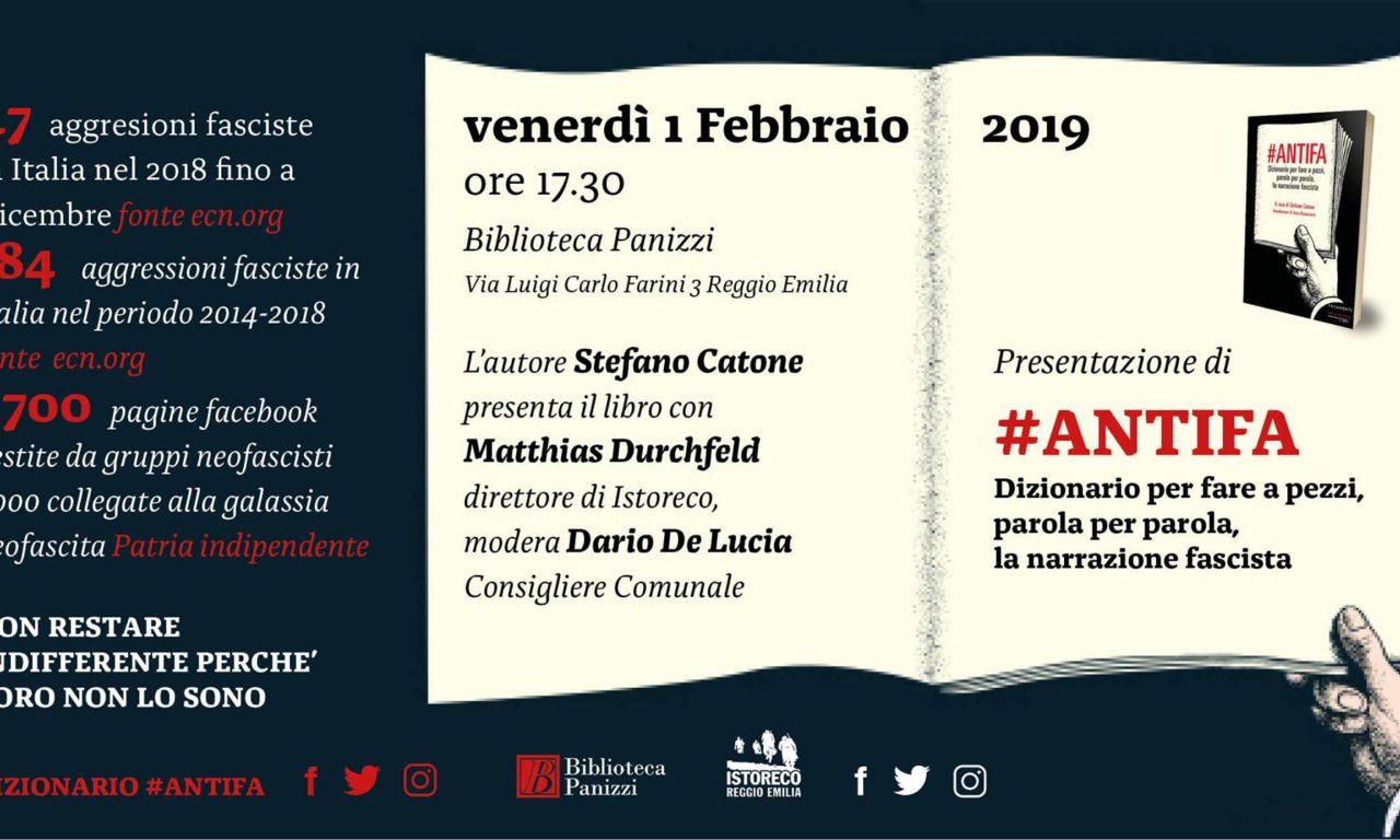 """Presentazione del """"Dizionario #Antifa"""""""