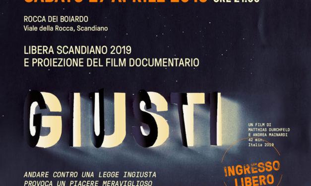 Proiezione documentario GIUSTI