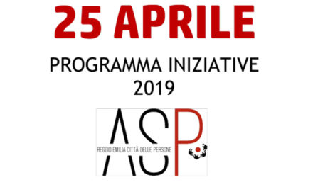 25 aprile con ASP, Istoreco e ANPI