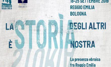 La Storia degli altri è Storia nostra – Corso di formazione sulla presenza ebraica tra Reggio e l'Emilia Romagna