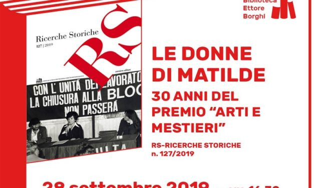 """Le Donne di Matilde: 30 anni del premio """"Arti e Mestieri"""""""