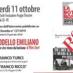 """""""Il modello Emiliano"""" a La Notte Rossa 2019"""