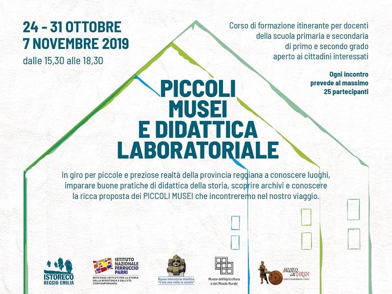 Piccoli musei e didattica laboratoriale – Corso di formazione per docenti