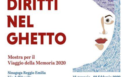 """Mostra """"Diritti nel ghetto"""" in Sinagoga"""