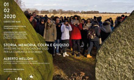 """""""Storia, memoria, colpa e giudizio"""": incontro con Alberto Melloni"""