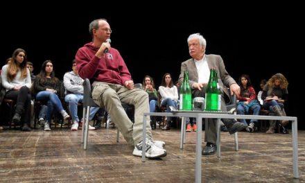 Viaggio della Memoria: testimonianza di Ernst Grube con gli studenti