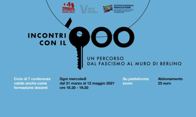 Incontri con il '900: sette conferenze per un percorso dal fascismo al muro di Berlino