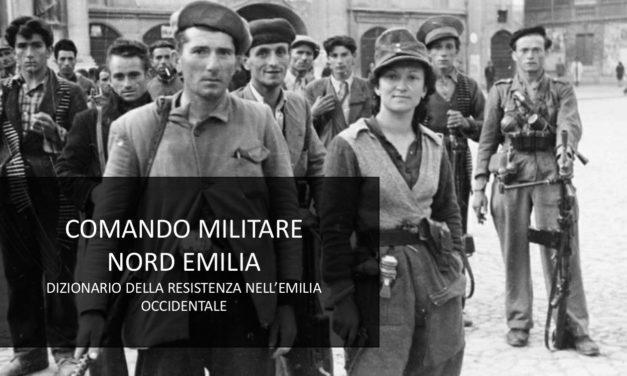 Ecco il Dizionario della Resistenza nell'Emilia occidentale
