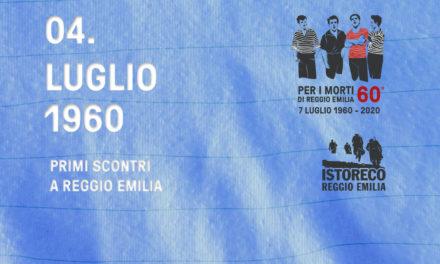 Per i morti di Reggio Emilia – 4 Luglio – Primi scontri a Reggio Emilia