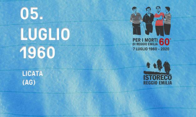 Per i morti di Reggio Emilia – 5 Luglio – Licata (AG)