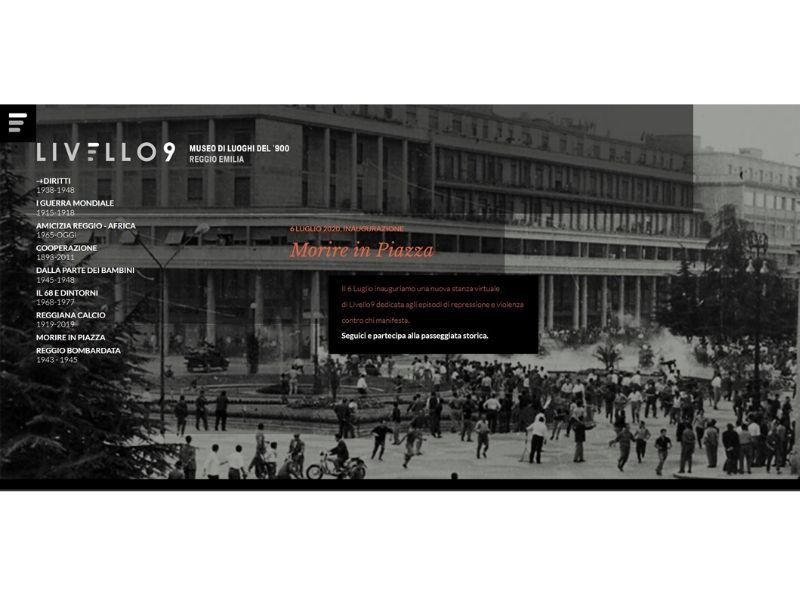 """""""Morire in piazza"""": la nuova stanza del museo virtuale Livello 9"""