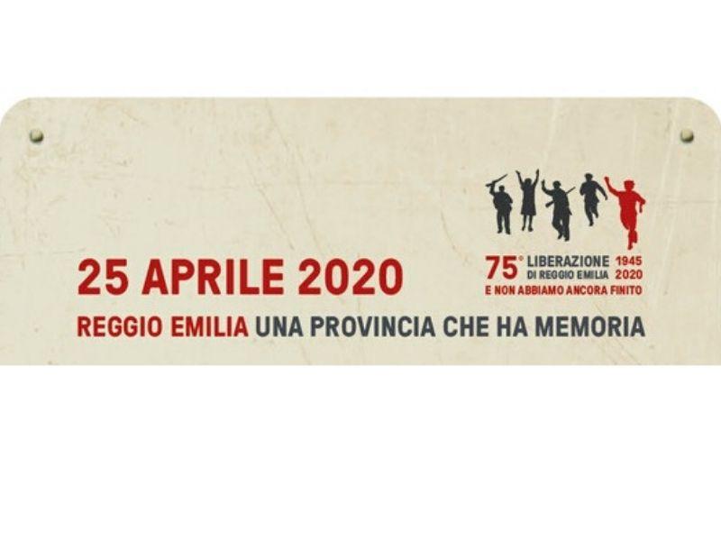 Reggio Emilia, una provincia che ha memoria: la locandina degli omaggi del 25 Aprile