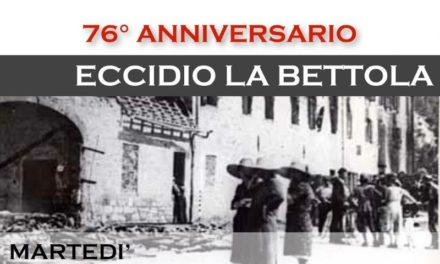 76° Anniversario dell'Eccidio de La Bettola