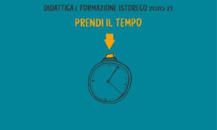 """""""Prendi il tempo 2020/21"""", l'offerta formativa e didattica di Istoreco"""