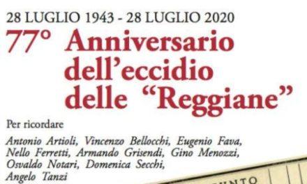 Commemorazione 77° anniversario dell'Eccidio delle Reggiane
