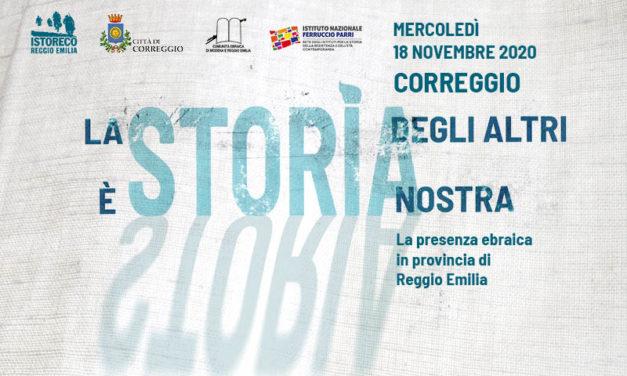 La Storia degli altri è Storia nostra. La presenza ebraica in provincia di Reggio Emilia
