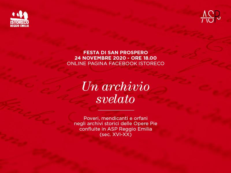 Un archivio svelato: presentazione delle scoperte fatte durante la recente attività di riordino e catalogazione dell'archivio ASP