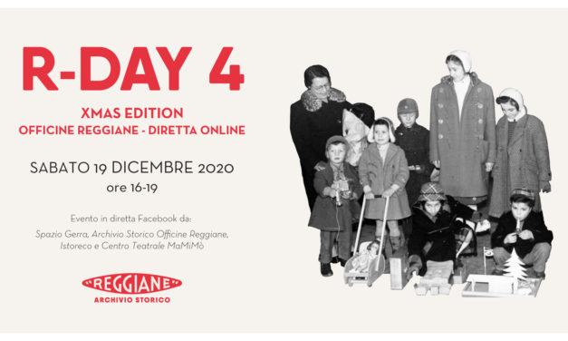 R-DAY 4 – Xmas Edition: OFFICINE REGGIANE – ARCHIVIO APERTO