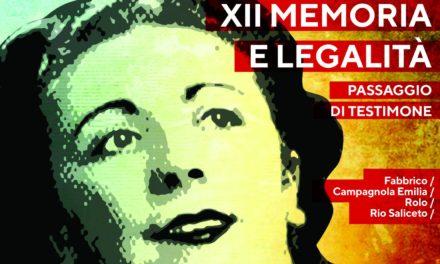 """Edizione 2021 della rassegna """"Memoria e Legalità"""""""
