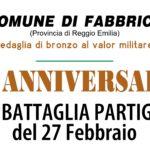 76° anniversario della Battaglia Partigiana di Fabbrico