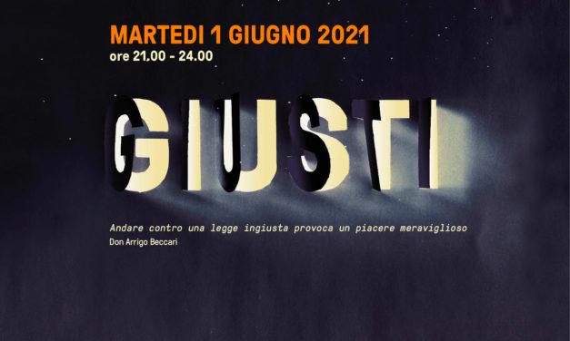 """Il documentario """"Giusti"""" premiato e disponibile liberamente dalle 21 alle 24 del 1 giugno"""