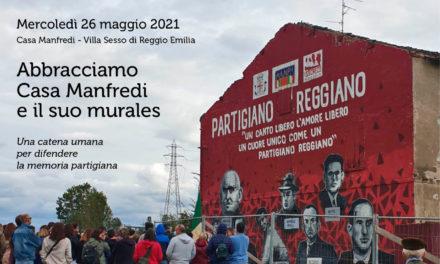 Abbracciamo Casa Manfredi e il suo murales – 26 maggio, 18.30