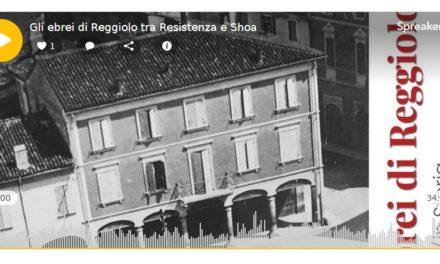 Sauro, Hana e Israel a Reggiolo, il podcast di Vera Paggi