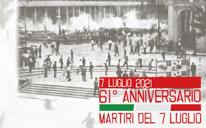 Per i morti di Reggio Emilia: 61° anniversario dell'eccidio del 7 luglio 1960