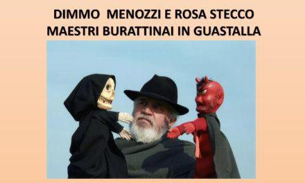 Dimmo Menozzi e Rosa Stecco, maestri burattinai in Guastalla
