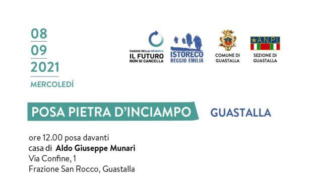 Guastalla, l'8 settembre la posa della pietra d'inciampo per Aldo Munari