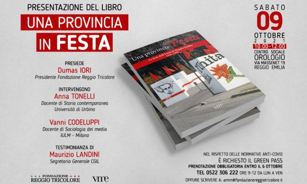 """Presentazione del libro """"Una provincia in Festa"""""""