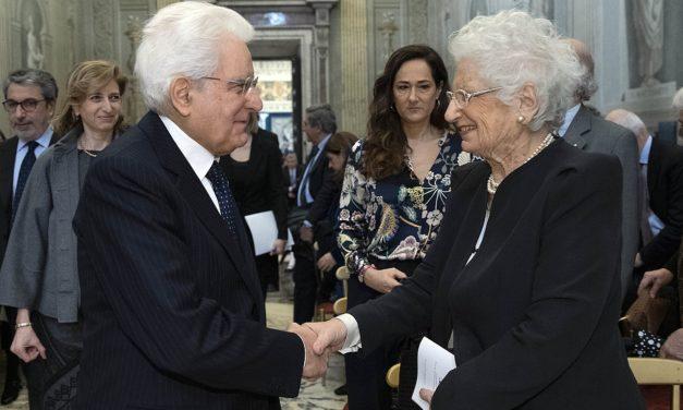 La cittadinanza onoraria di Reggio Emilia a Liliana Segre